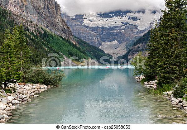 lake Louise - csp25058053