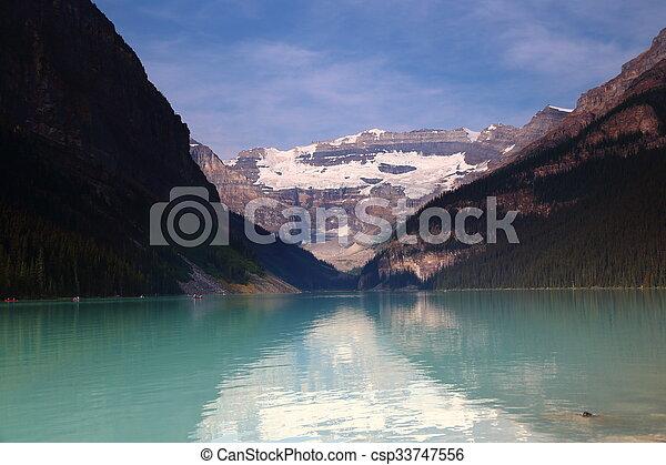 lake louise - csp33747556