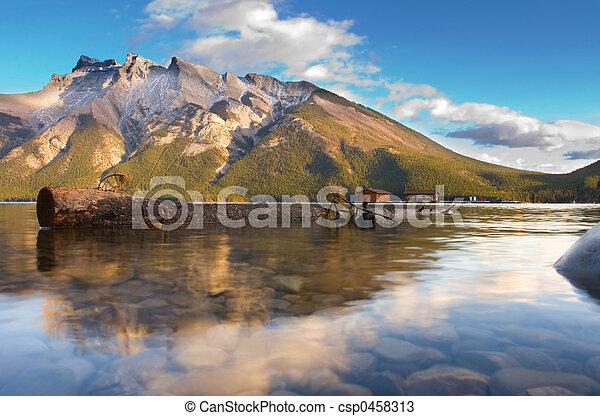 Lake Miniwanker - csp0458313