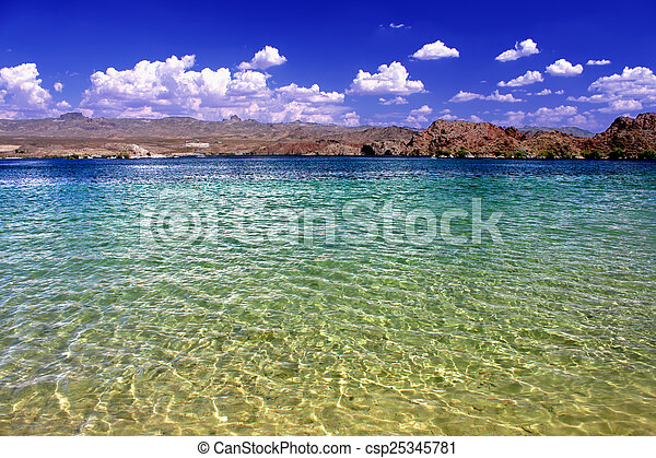 Lake Mohave Landscape Nevada - csp25345781