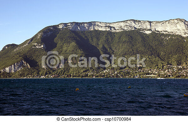 lake of annecy, france - csp10700984