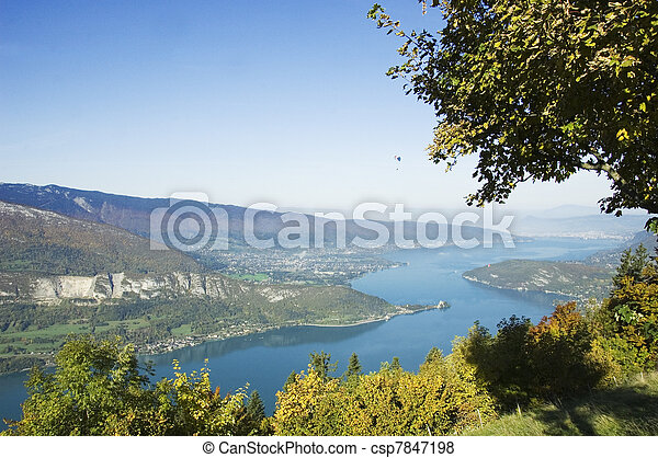 Lake of Annecy  - csp7847198
