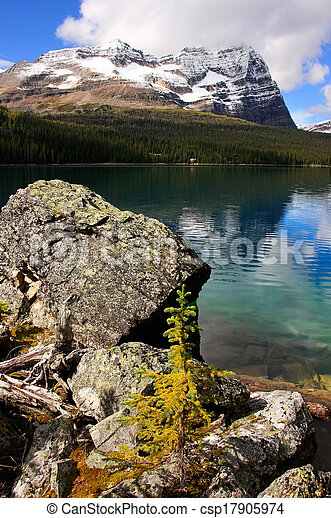 Lake O'Hara, Yoho National Park, British Columbia, Canada - csp17905974