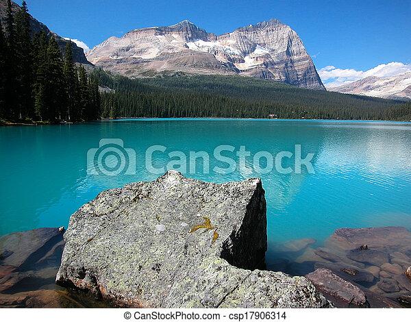 Lake O'Hara, Yoho National Park, British Columbia, Canada - csp17906314