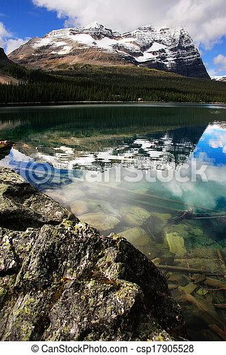 Lake O'Hara, Yoho National Park, British Columbia, Canada - csp17905528