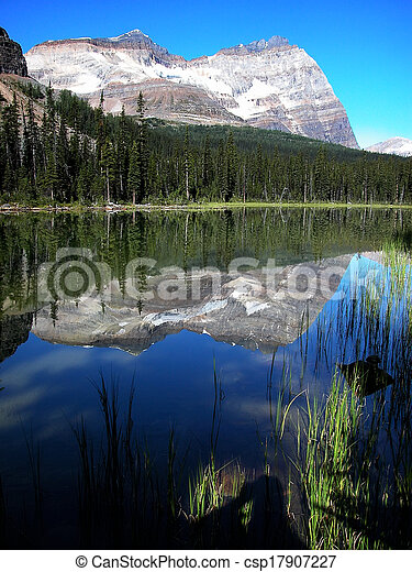 Lake O'Hara, Yoho National Park, British Columbia, Canada - csp17907227