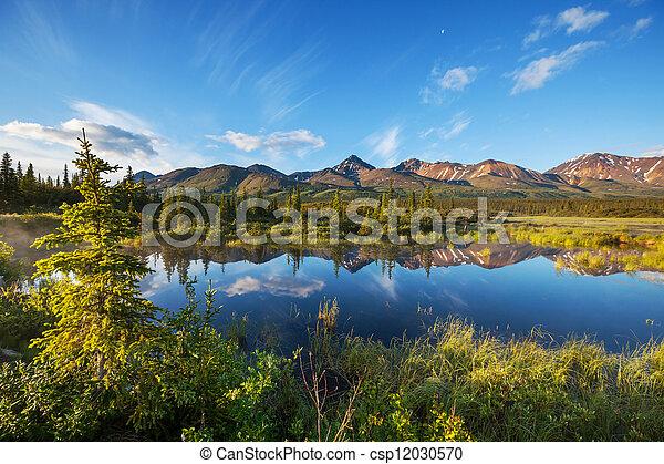 Lake on Alaska - csp12030570