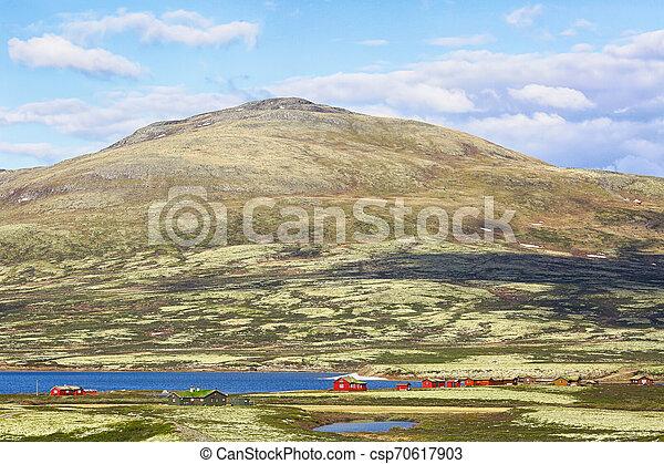 Lake Orkel, Norway - csp70617903