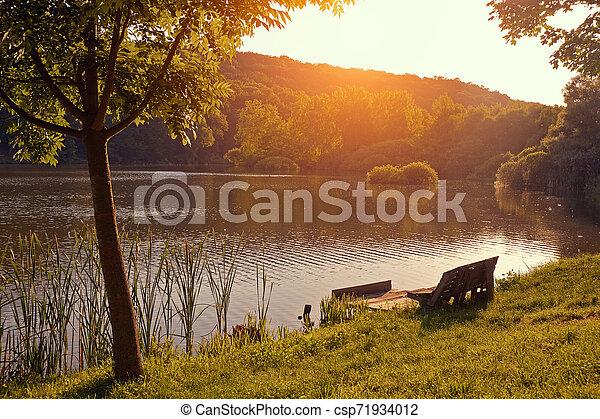 Lake - csp71934012