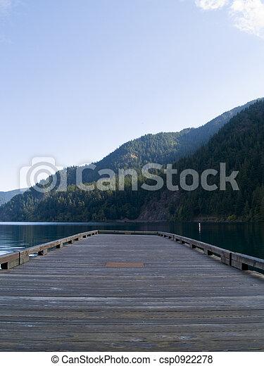 Lake Pier - csp0922278