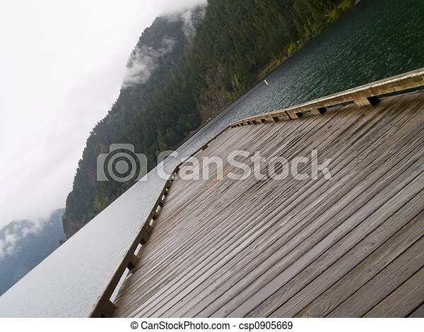 Lake Pier - csp0905669