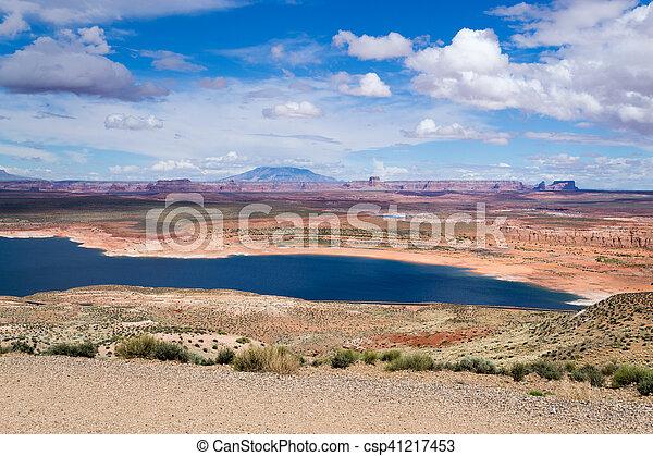 Lake Powel in Arizona - csp41217453