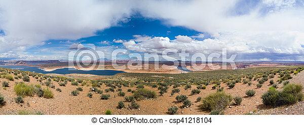 Lake Powel in Arizona - csp41218104