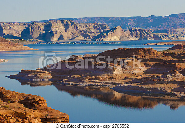 Lake Powell, Arizona - csp12705552