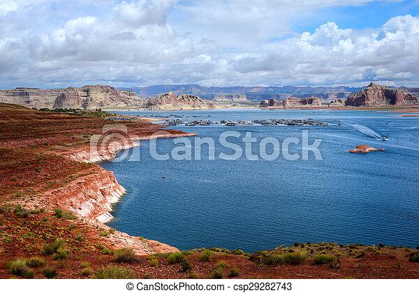Lake Powell Arizona - csp29282743