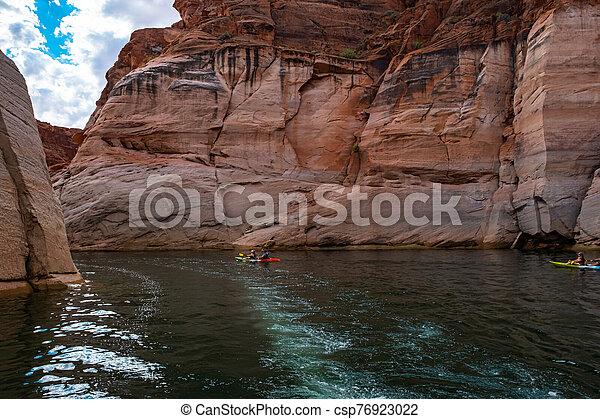 Lake Powell, Arizona. - csp76923022