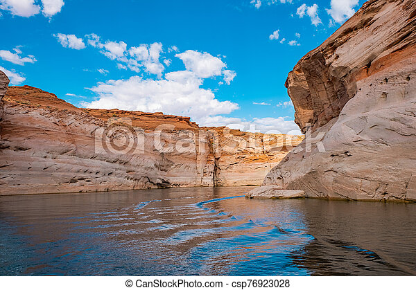 Lake Powell, Arizona. - csp76923028