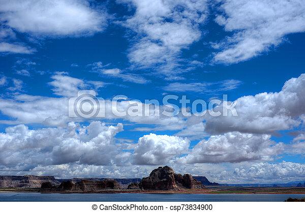 Lake Powell Arizona - csp73834900