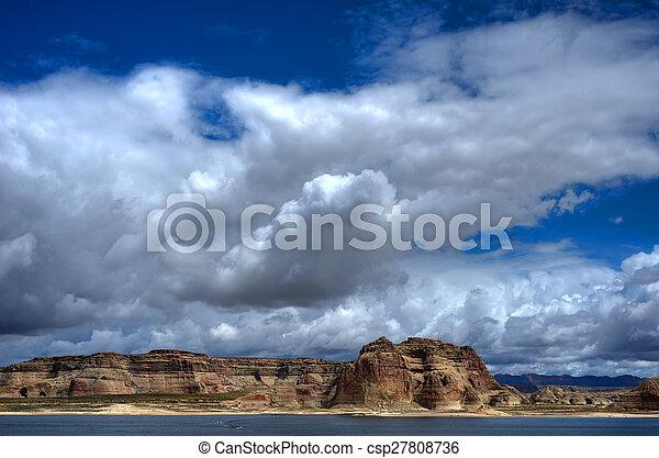 Lake Powell Arizona - csp27808736