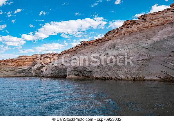 Lake Powell, Arizona. - csp76923032
