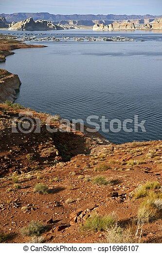 Lake Powell Boating - csp16966107
