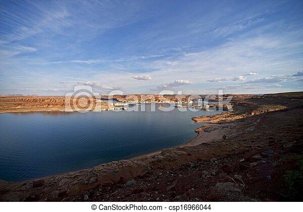 Lake Powell Dam - csp16966044