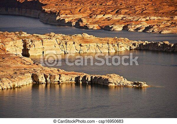 Lake Powell Landscape - csp16950683