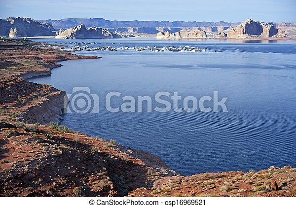 Lake Powell Landscape - csp16969521