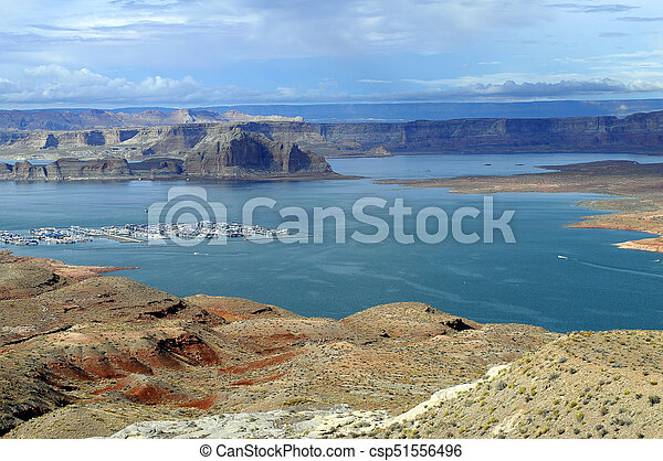 Lake Powell landscape - csp51556496