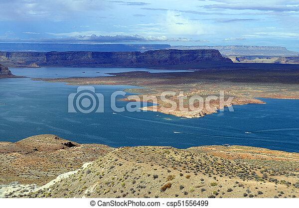 Lake Powell landscape - csp51556499