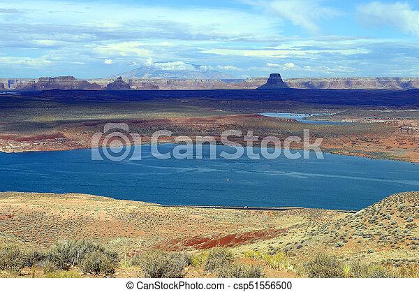 Lake Powell landscape - csp51556500