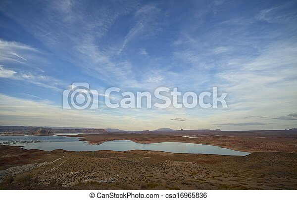 Lake Powell Landscape - csp16965836