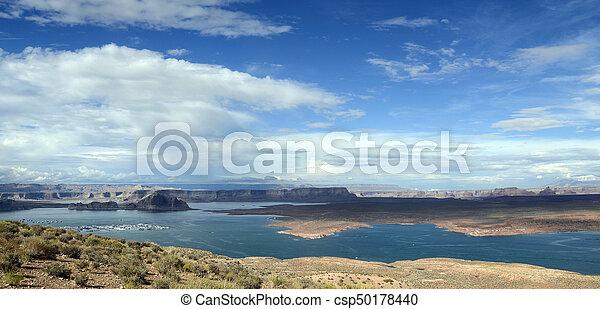 Lake Powell landscape, USA - csp50178440
