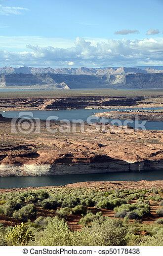 Lake Powell landscape, USA - csp50178438
