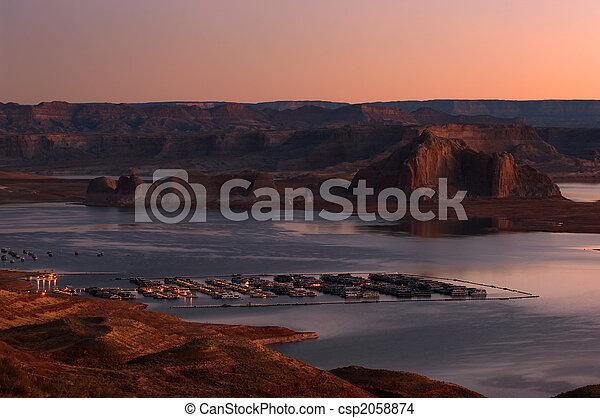 Lake Powell marina - csp2058874