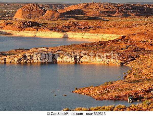 Lake Powell Morning Glow - csp4539313