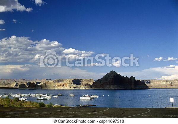 Lake Powell - csp11897310