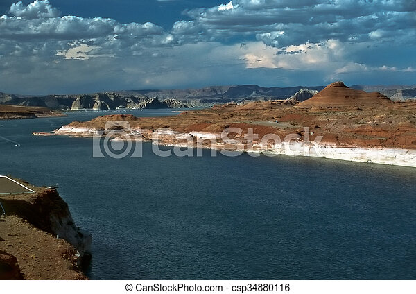 Lake Powell - csp34880116