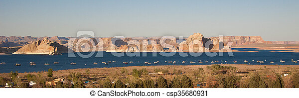 Lake Powell - csp35680931
