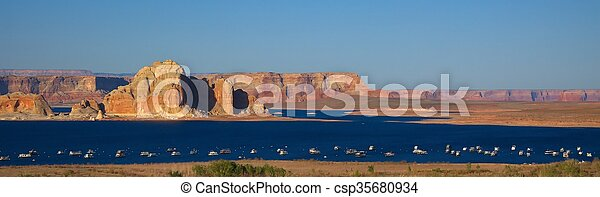 Lake Powell - csp35680934