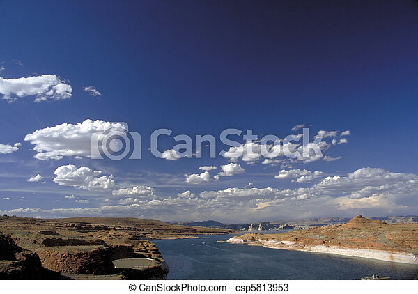 Lake Powell - csp5813953