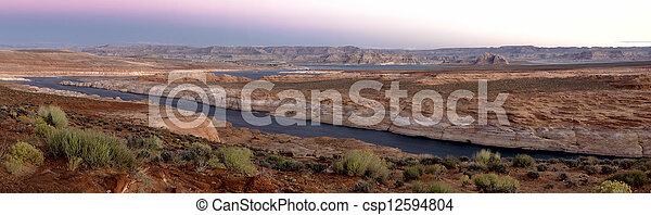 Lake Powell Sunrise - csp12594804