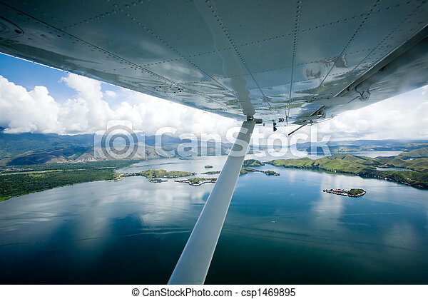 Lake Sentani Indonesia - csp1469895