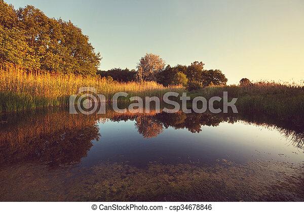 Lake - csp34678846