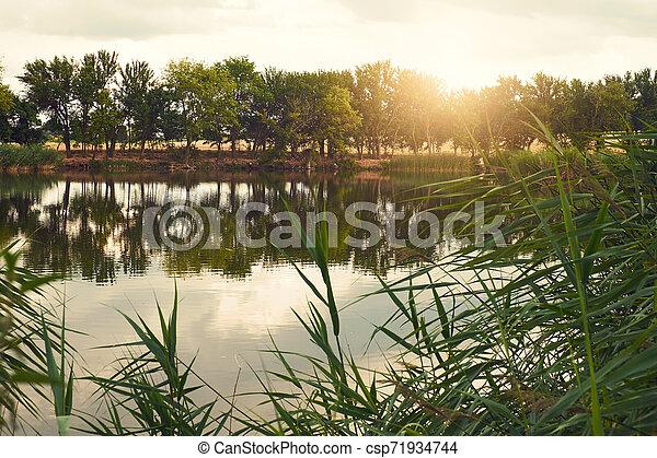 Lake - csp71934744