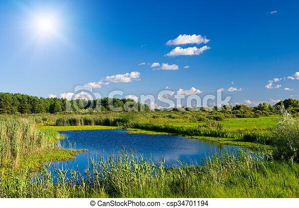 Lake - csp34701194
