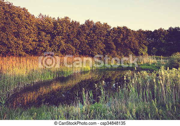 Lake - csp34848135