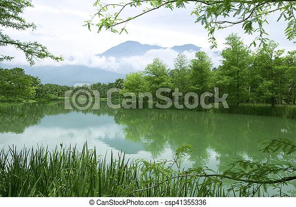 Lake - csp41355336