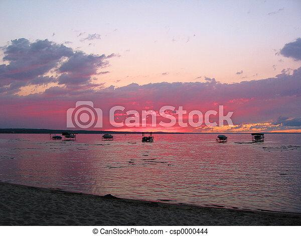 Lake Sunset - csp0000444