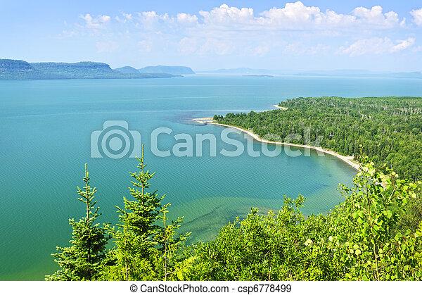 Lake Superior - csp6778499